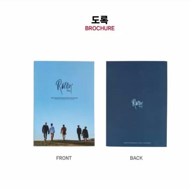 B1A4 (비원에이포) 7th Mini Album ROLLIN' Goods - OFFICIAL GOODS  Brochure / 도록