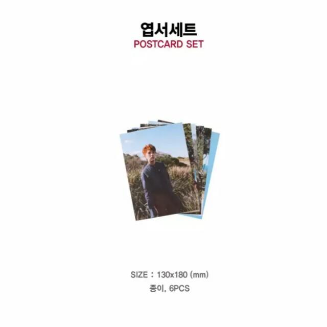 B1A4 (비원에이포) 7th Mini Album ROLLIN' Goods - OFFICIAL GOODS  Postcard Set / 엽서세트