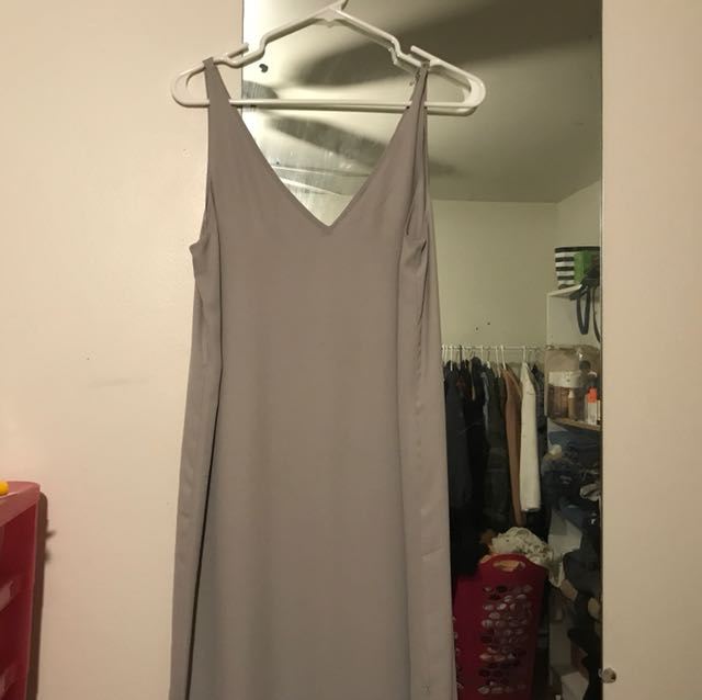 BABATON DRESS SIZE S grey 9/10 condition