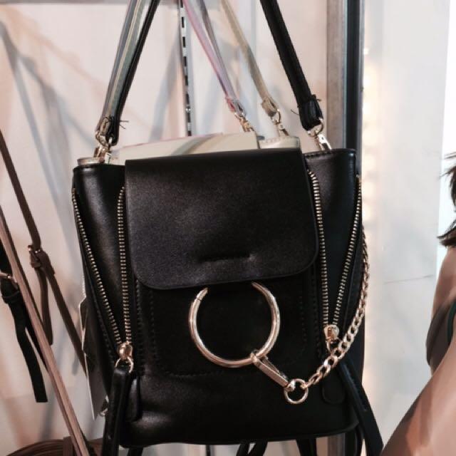 bag pack and shoulder bag