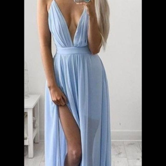 Beautiful light blue dress
