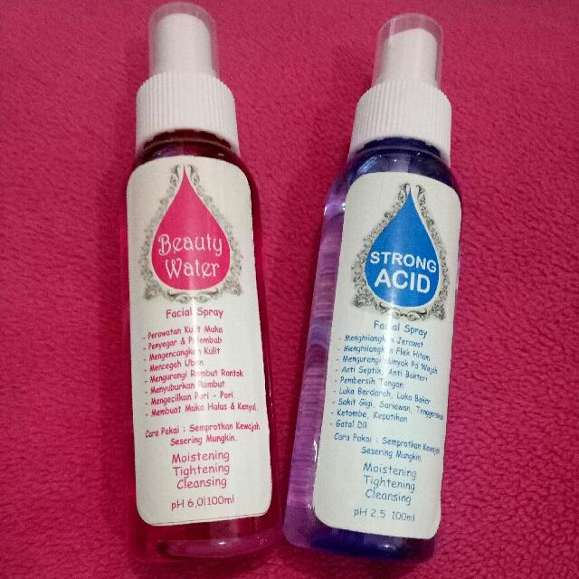 Beauty Water Dan Strong Acid