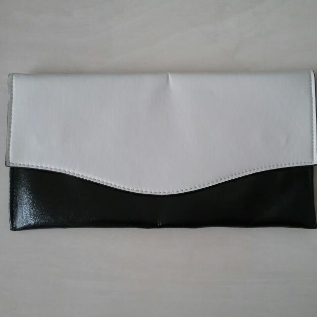 Black And White Clutch