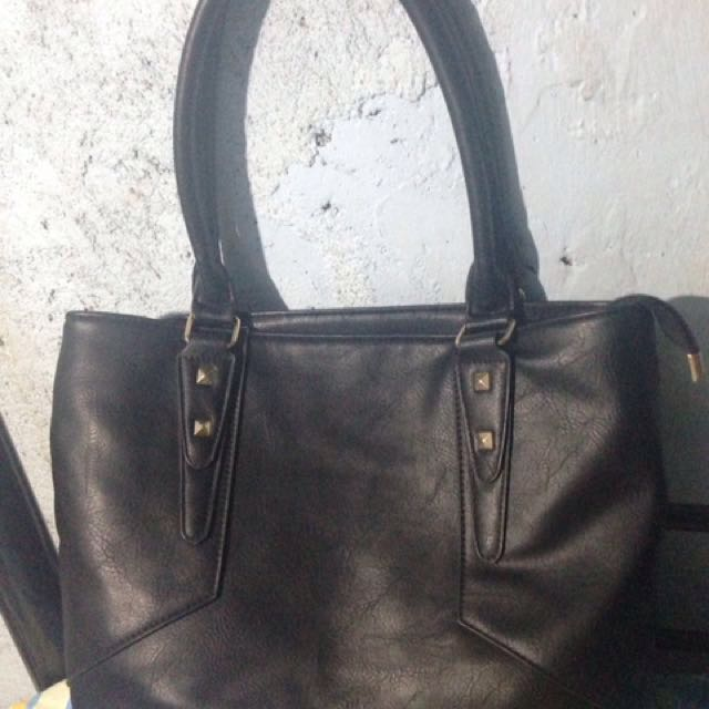 Black Parisian Bag