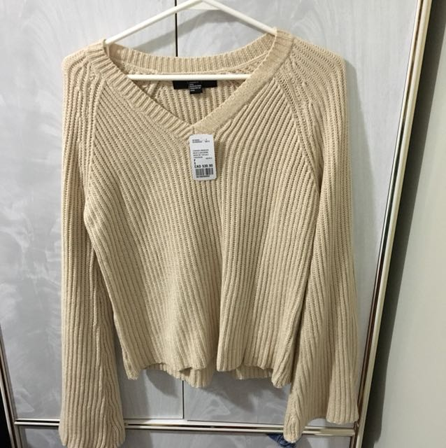 Bless sleeve knit sweater
