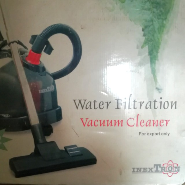 BN water filtration vacuum cleaner