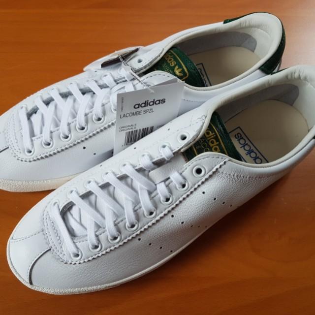 tags - Adidas Lacombe Spezial White
