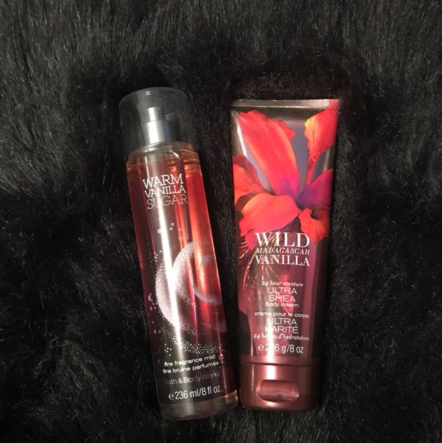 Body Cream and Fragrance Mist Duo