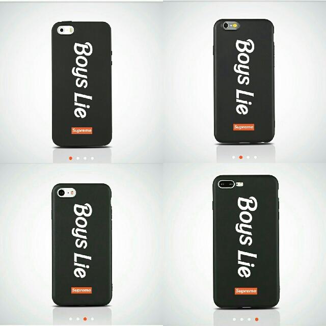 BOYS LIE Soft Matte iPhone Case