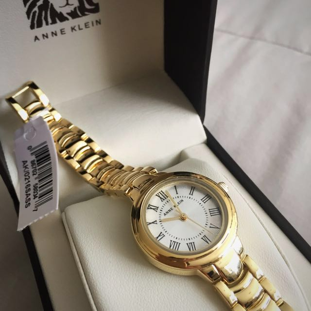 Brand New Anne Klein Gold Watch