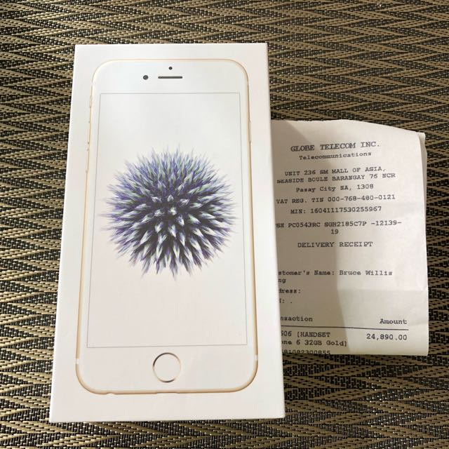 Brand New (Sealed) Gold iPhone 6 32GB Globe-locked
