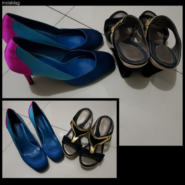 Bundle: Charles and Keith + Le donne Size 6- Free Delivery