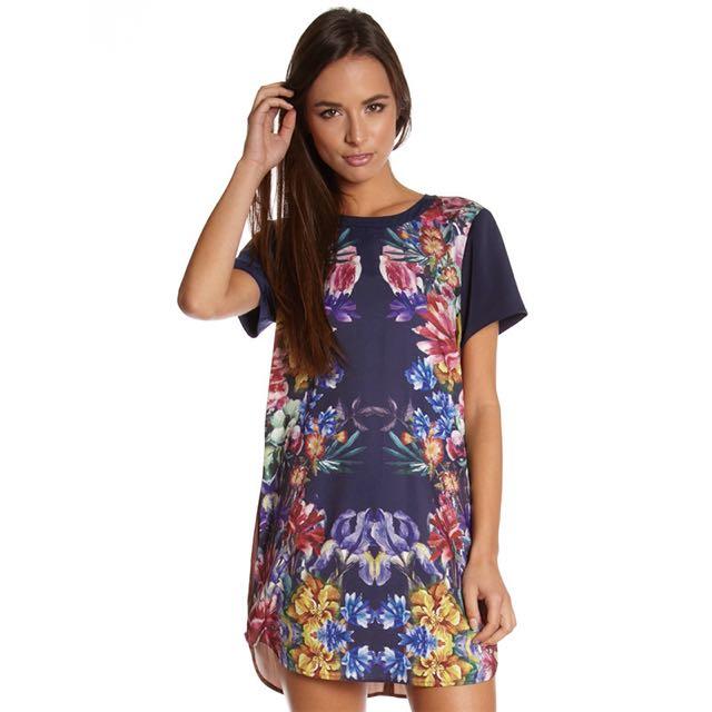 Cameo Floral Dress
