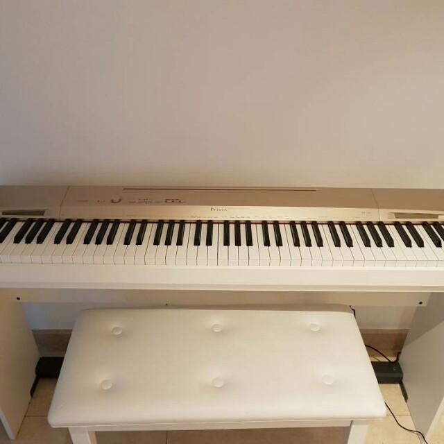 Casio Privia,The best Digital Piano Model in the world (White)