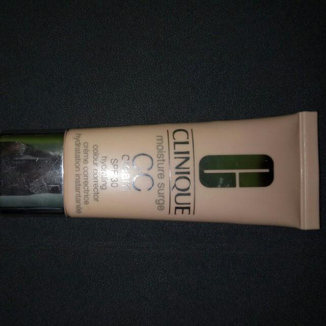 Cc cream clinique moisture surge original authentic