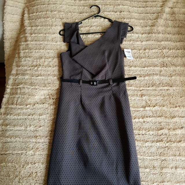 Charlotte Russe dress with belt. With tags