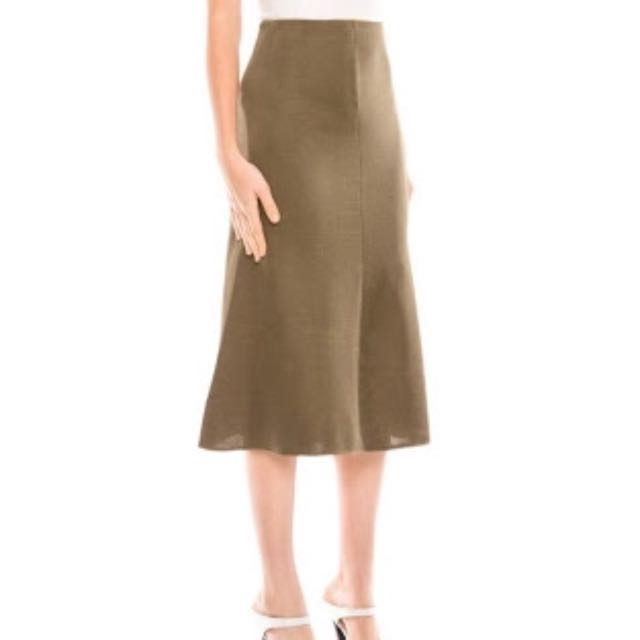 C/Mel Collective New Guard Skirt In BLACK