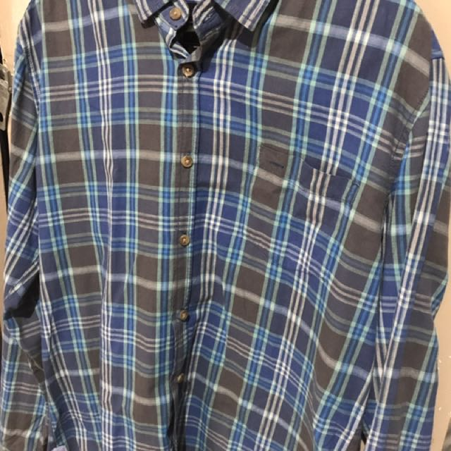 Cotton On Medium Checkered Long Sleeves