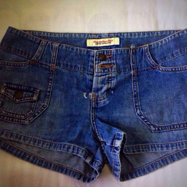 Denim Shorts Abercrombie and Fitch