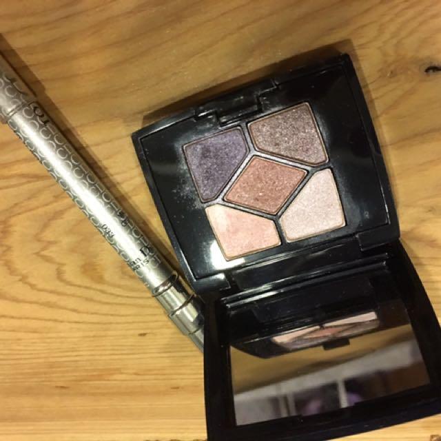 Dior迷你眼影盒➕銀色眼線筆