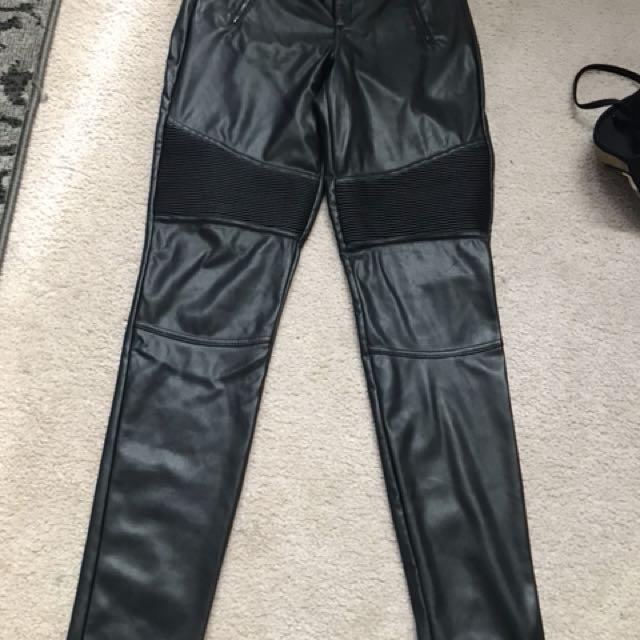 Dynamite Leather Pants