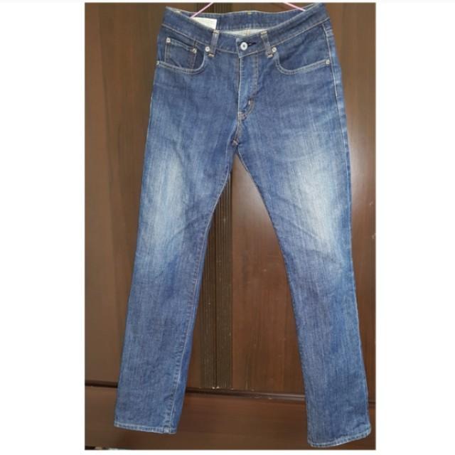 【二手特惠】EDWIN 直筒牛仔褲