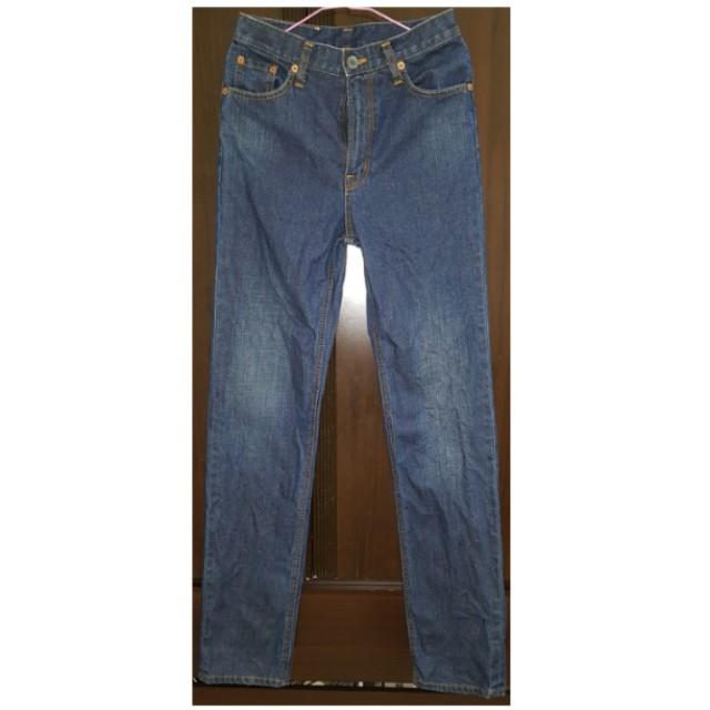 【二手特惠】EDWIN 基本款牛仔褲