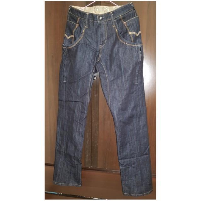 【二手特惠】EDWIN E-FUNCTION 大口袋牛仔褲