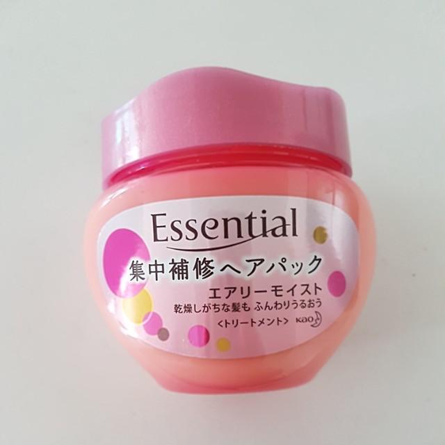 Essentials japanese hair treatment