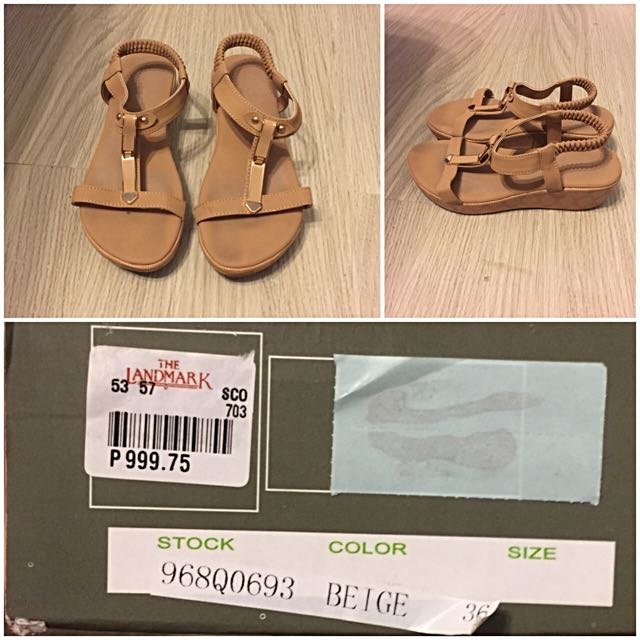 Finickee Beige Sandals