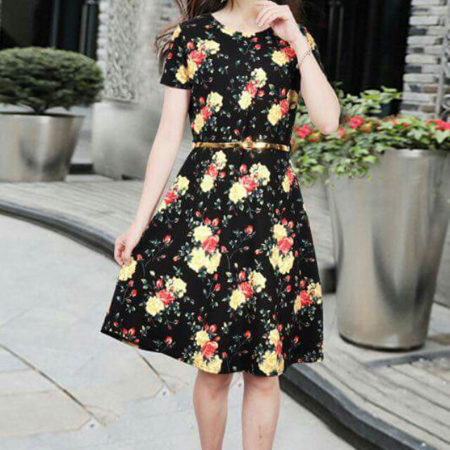 1113372fcc12c Floral Dress Design Women S Fashion Clothes On Carousell