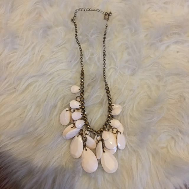 Forever21 Chunky Beaded Necklace