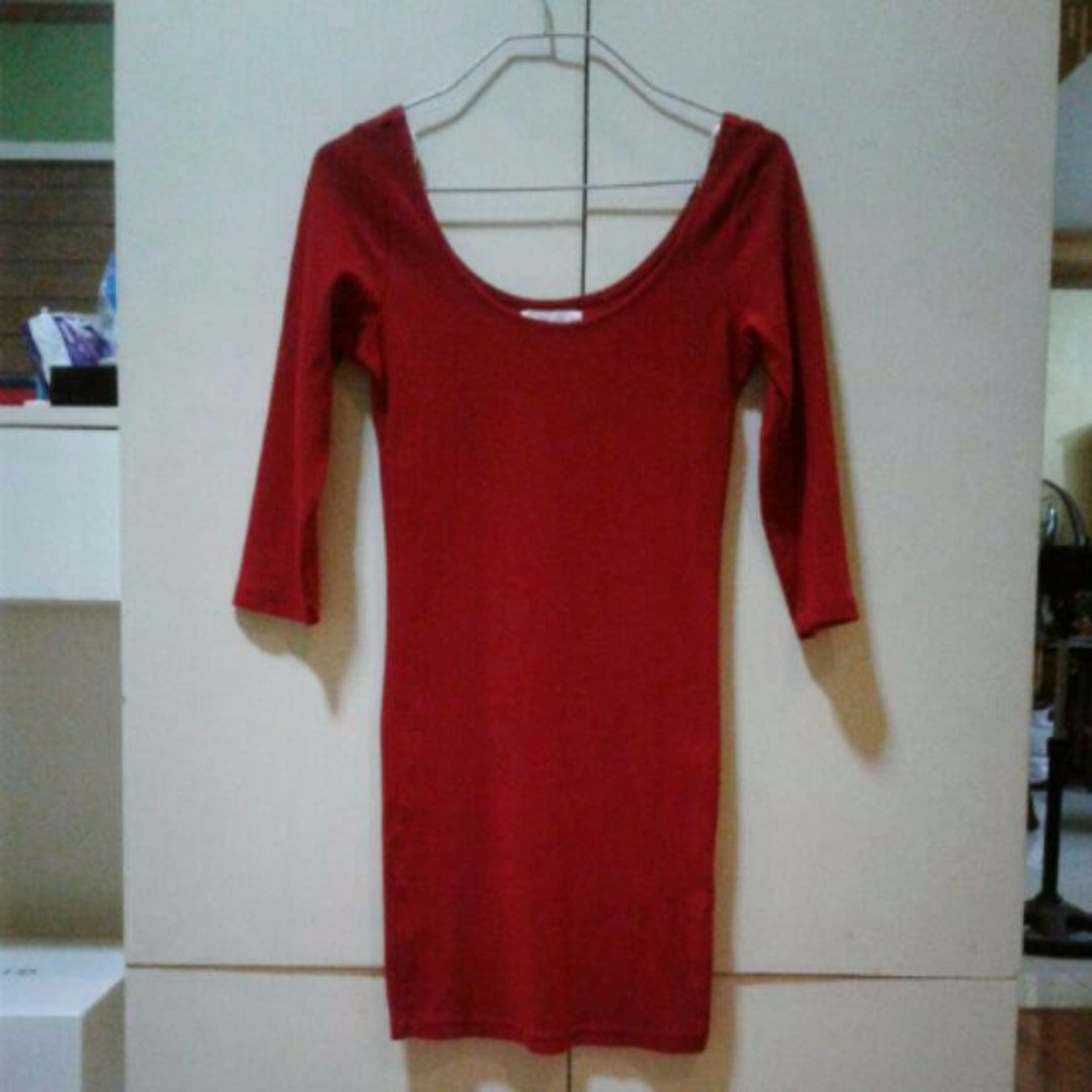 Forever21 Red Dress (SMALL)