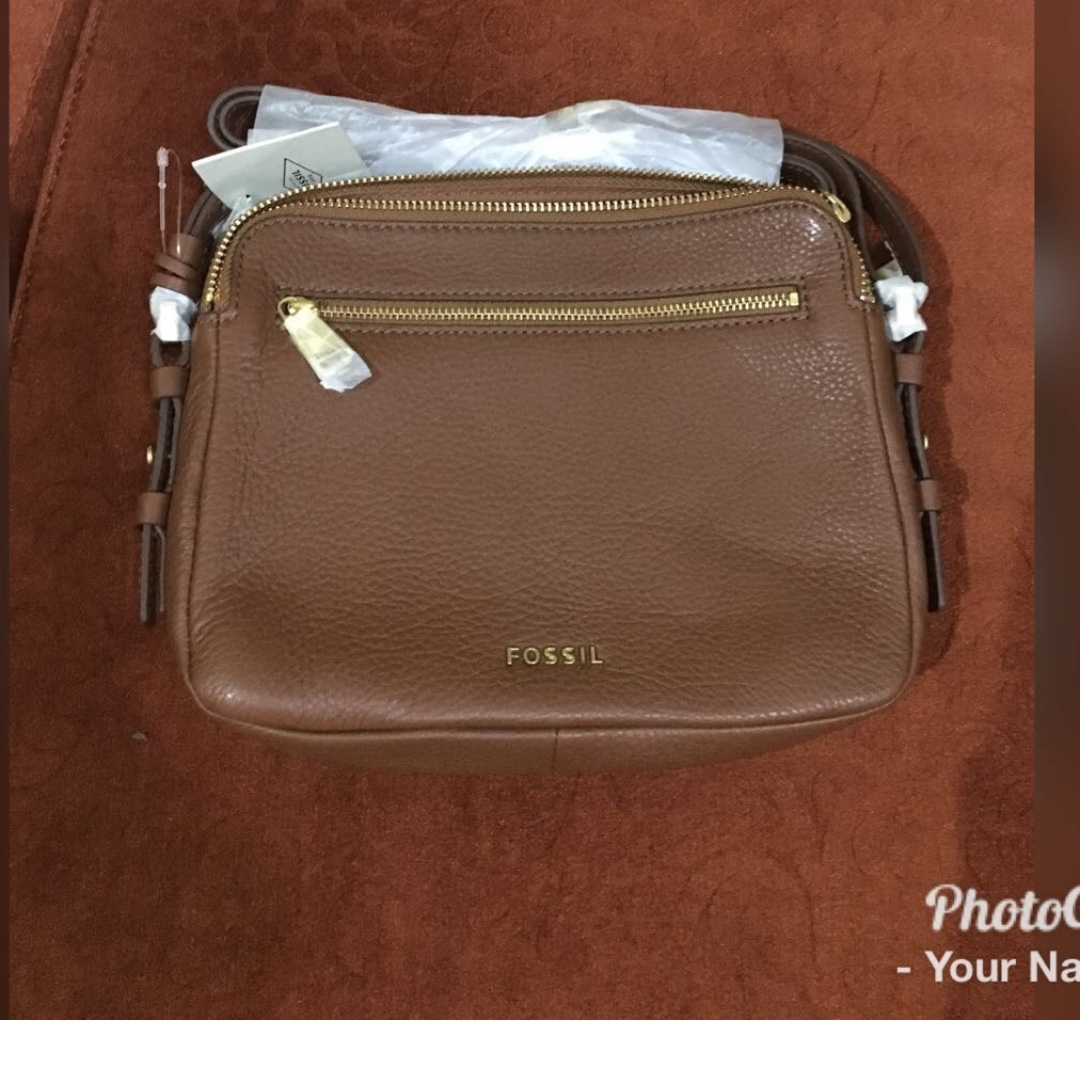fossil piper brown nwt