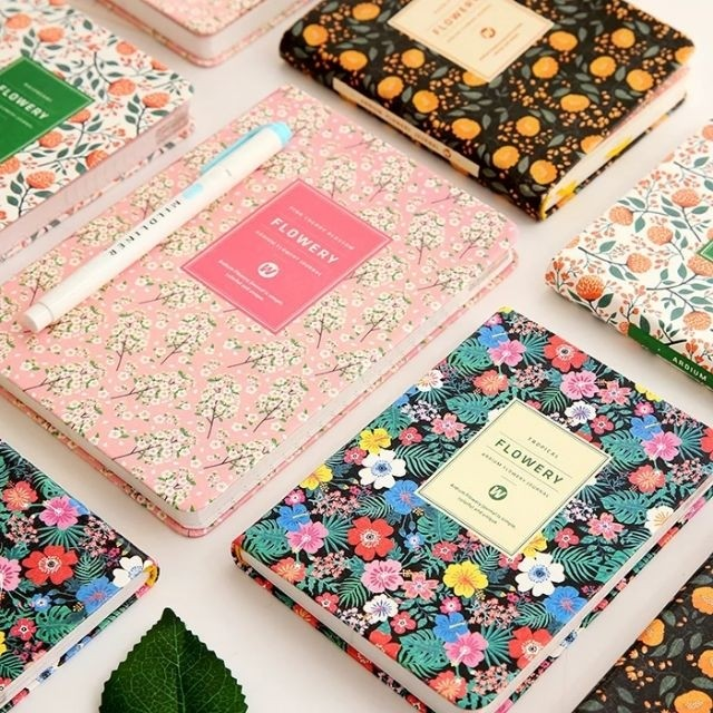 #FreePostage Preorder Floral Bullet Journal