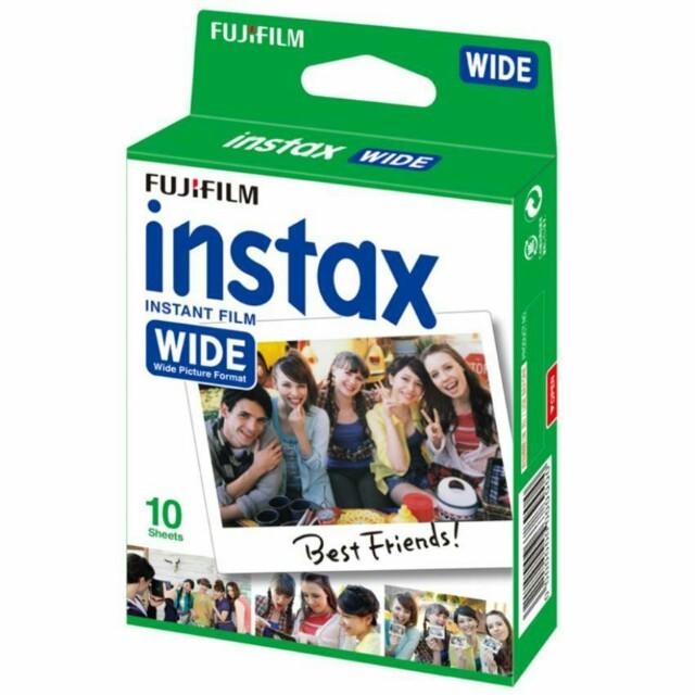 FUJIFILM REFILL INSTAX WIDE PLAIN (10 lembar) Polos Polaroid
