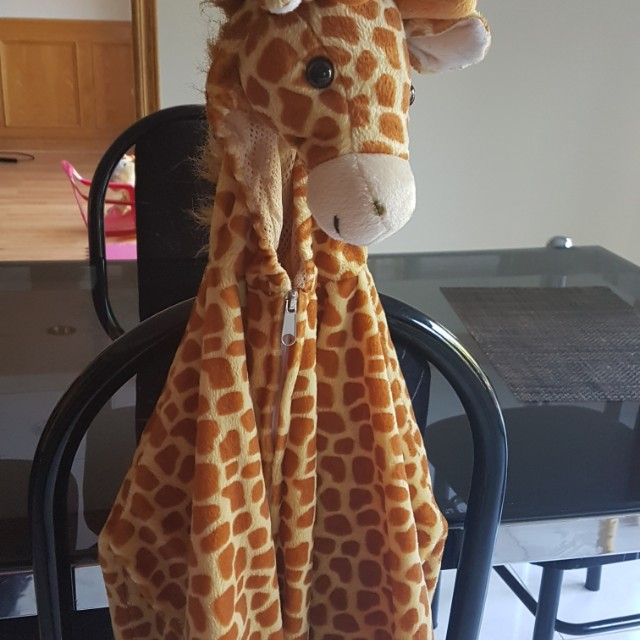 Giraffe costume 3/4T fit
