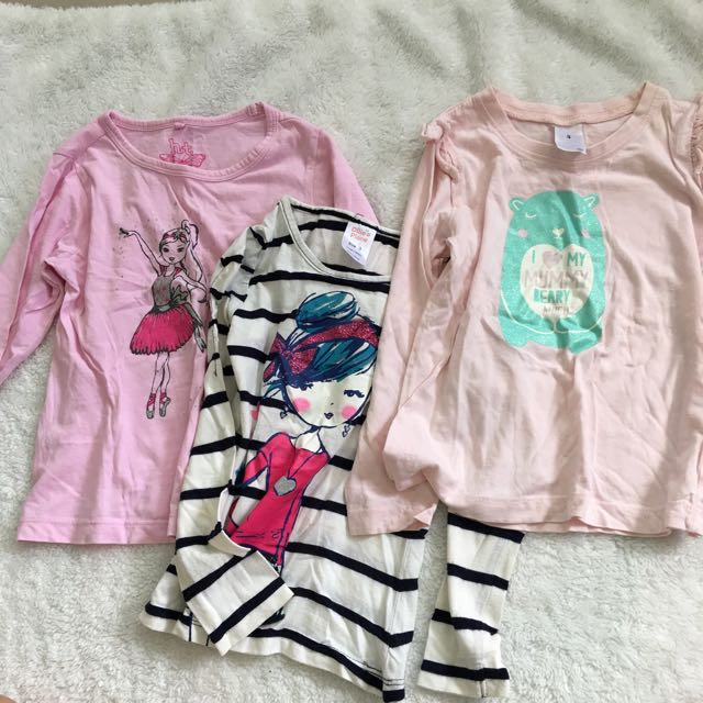 Girl's long sleeves Bundle