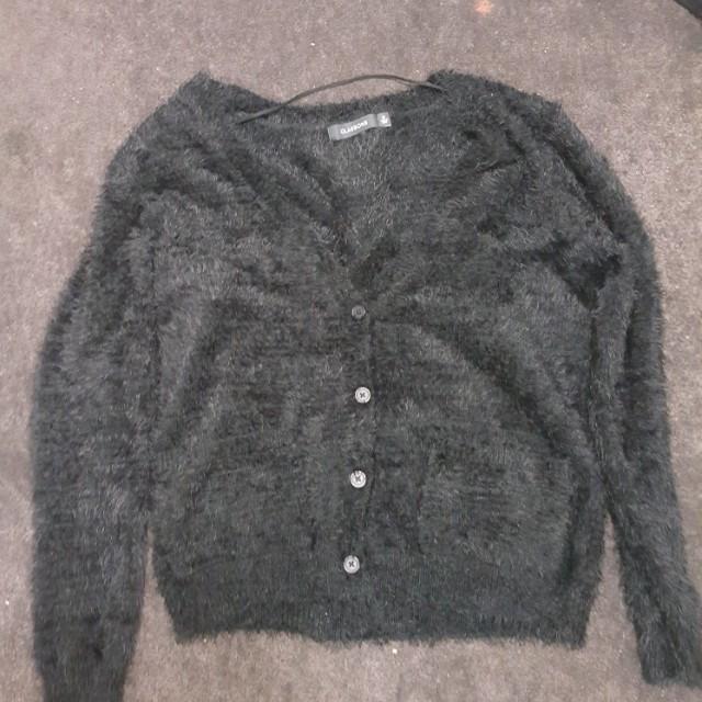 glassons fuzzy sweater