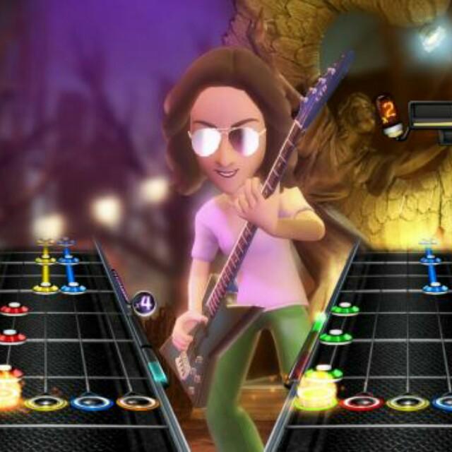 Guitar Hero/Rockband Guitar Untuk XBox 360