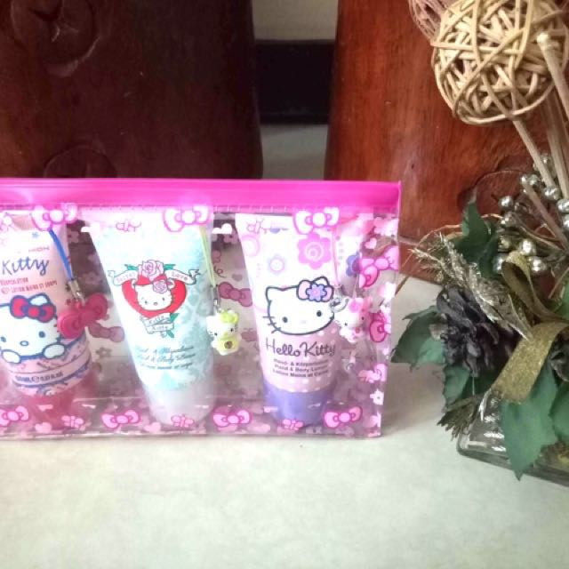 Hello Kitty 3pc Hand and Body lotion set