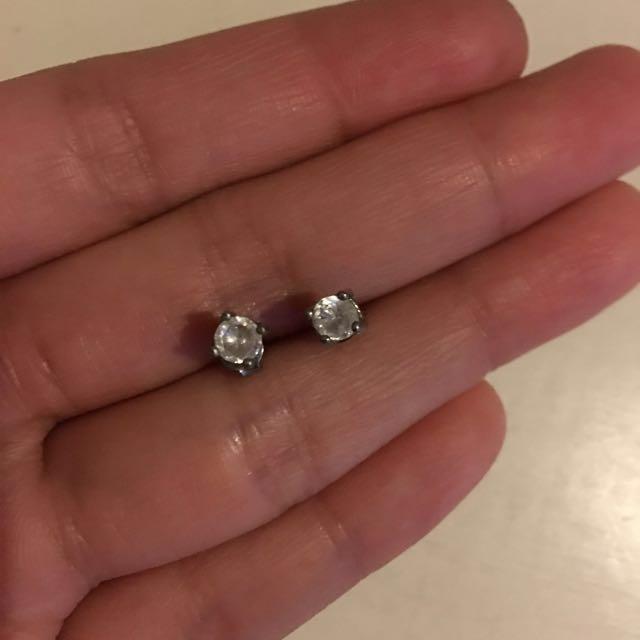 H&M Diamond Earrings