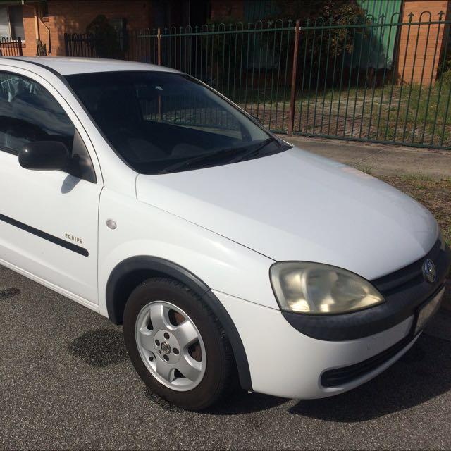 Holden Barina 2001 - URGENT SALE!