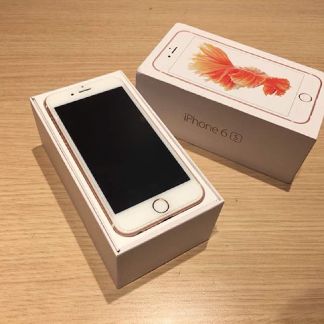 IPHONE 6s 64GB MYSET ROSE GOLD 50e3d82478