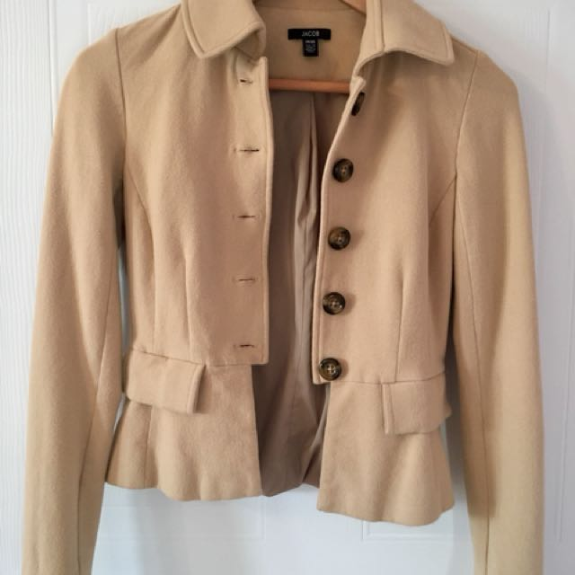 Jacob Beige Blazer/Jacket - XS