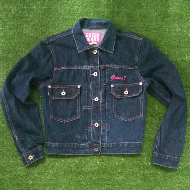 jaket jeans Guess made in mexico