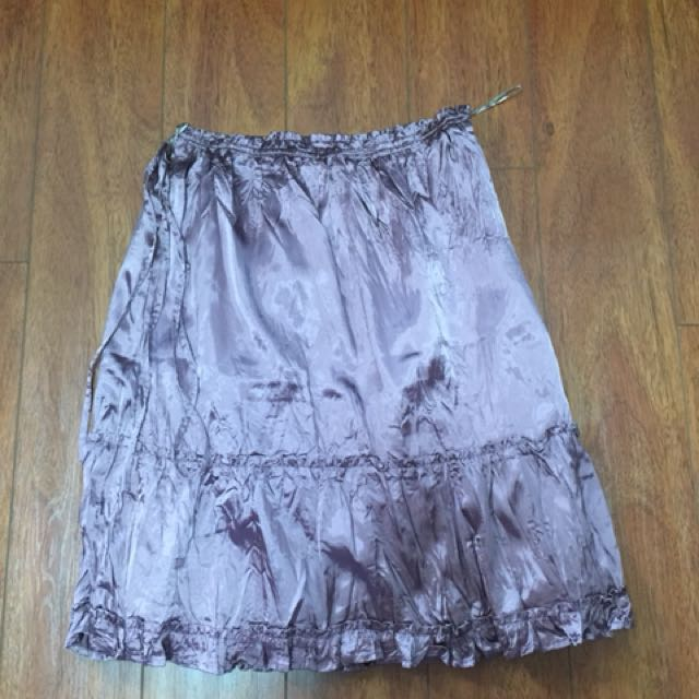 Kashieca Metallic Skirt