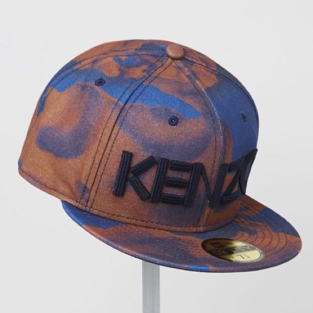 KENZO x NEW ERA SnapBack Cap Cloud Design 0037dd9cdb5