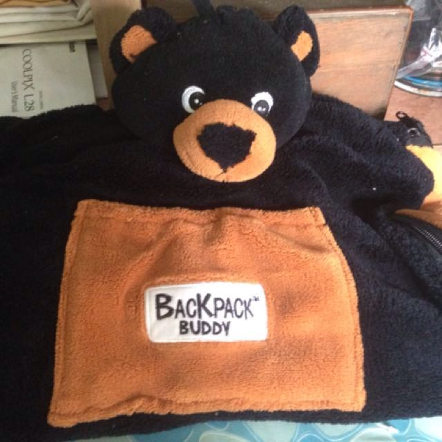 Kid's soft back pack/blanket