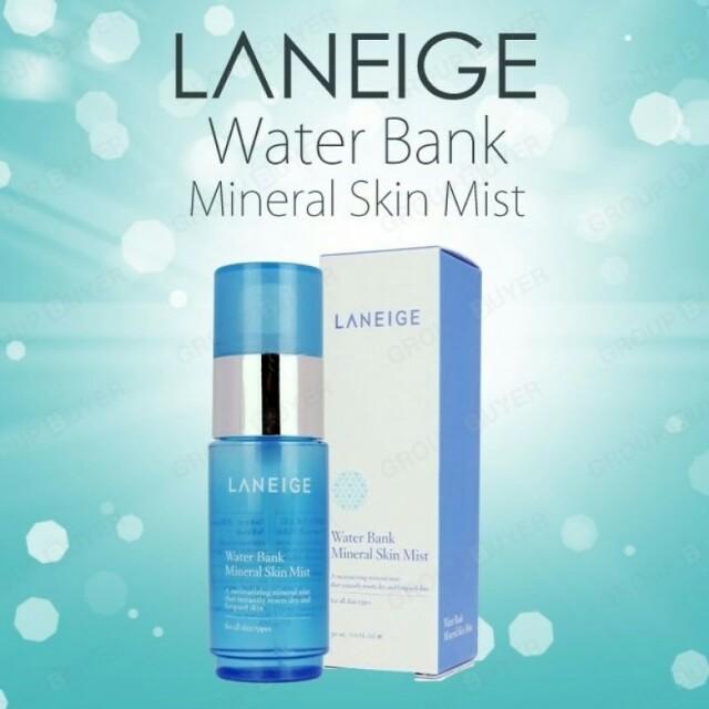 💖Laneige Water Bank Mineral Mist 💖